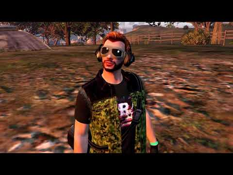 GTA Online FASHION FRIDAY! (Cyber Punk, Military Biker, Forest Ranger & More)