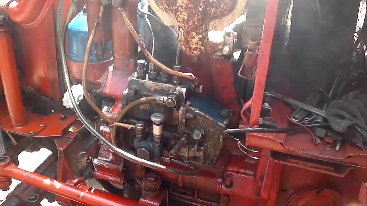 инструкция по замене плунжера на пучковом тнвд т-40