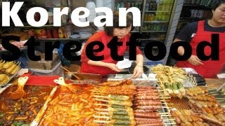 Street food in South Korea