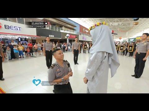 Melamar - Iptu Ivan Melamar Furi Bersama Tim Kepolisian (3/3)