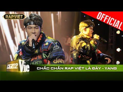 Mang Đây Là Việt Nam của Rhymastic đi thi, Yang bất ngờ chinh phục được Karik| RAP VIỆT [Live Stage]