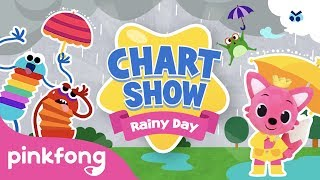 Pinkfong Chart Show: Rainy Day Songs | Pinkfong Baby Shark Chart Show | Pinkfong Show for Children