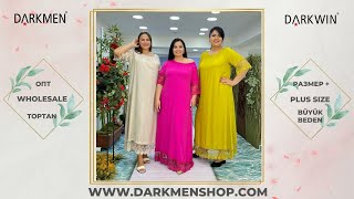 19 05 2021 Часть 1 Показ женской одежды больших размеров DARKWIN от DARKMEN Турция Стамбул Опт