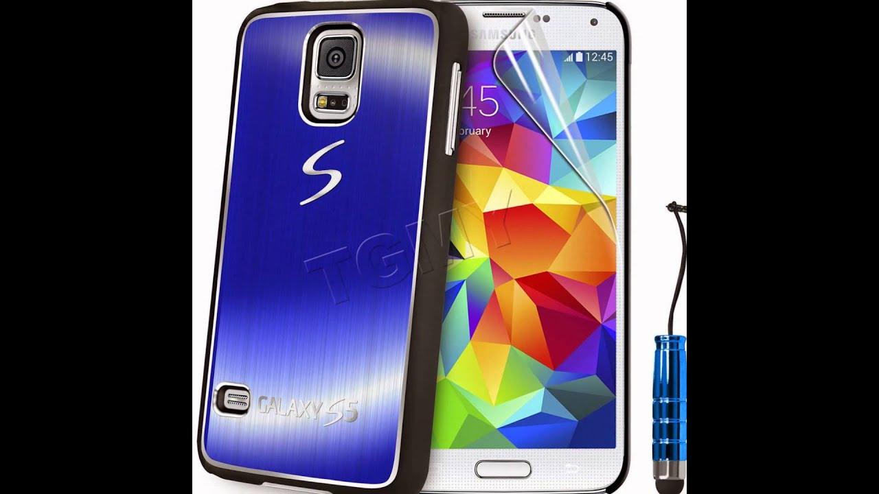 3d0f7c757b9 Funda de Metal Grand Lujo, Carcasa Tpu Para Samsung Galaxy S5 S4 S3 Mini S4  Mini Cepillado Aluminio