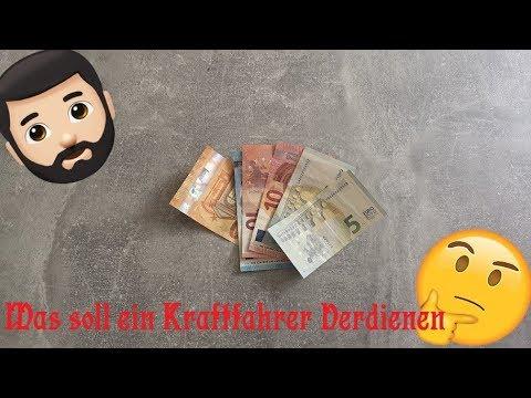 Was Soll Ein Kraftfahrer Verdienen (netto)