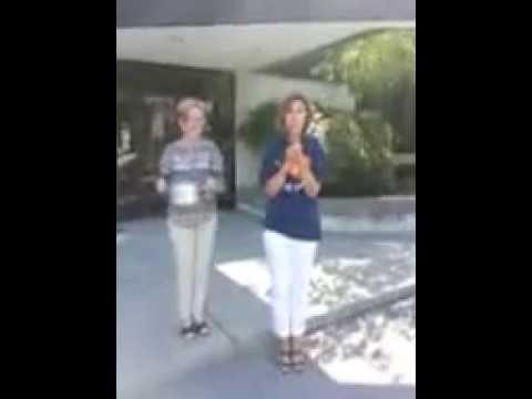 HCR's Sue Bourne Takes The Ice Bucket Challenge