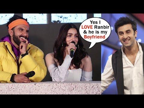 Alia Bhatt FINALLY Accepted the LOVE For Ranbir Kapoor In Front Of Media