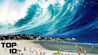 Top 10 People Trapped In Scary Tsunamis