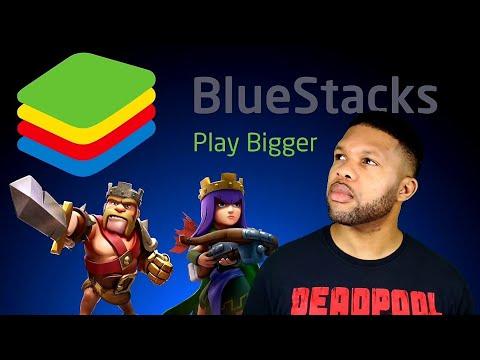 Android Emulator Blue Stacks PC setup 2021