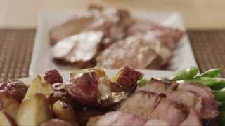 Pork Recipe - Maple Garlic Marinated Pork Tenderloin
