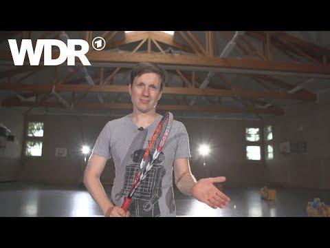 Kann es Johannes?  Speed Badminton  WDR