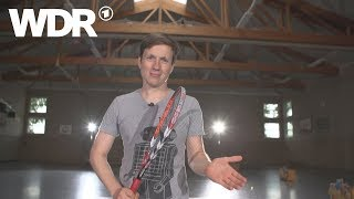 Kann es Johannes? - Speed Badminton | WDR