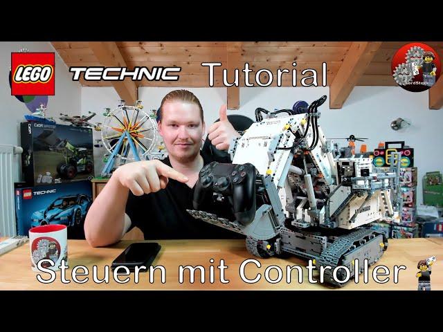 Steuern wie ein Großer   Lego® Technic 42100 mit Controller steuern   Brickcontroller 2   Tutorial