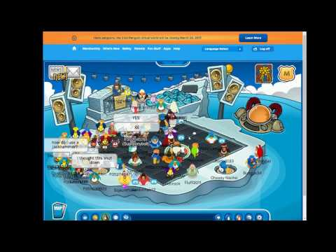 Club Penguin Shuts Down - The REAL Last Hour of Club Penguin (Finale at 51:10)
