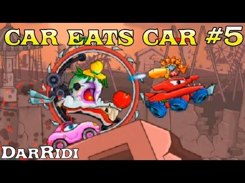 мультик игра Хищные машины 3 - финал car eats car 3 #5