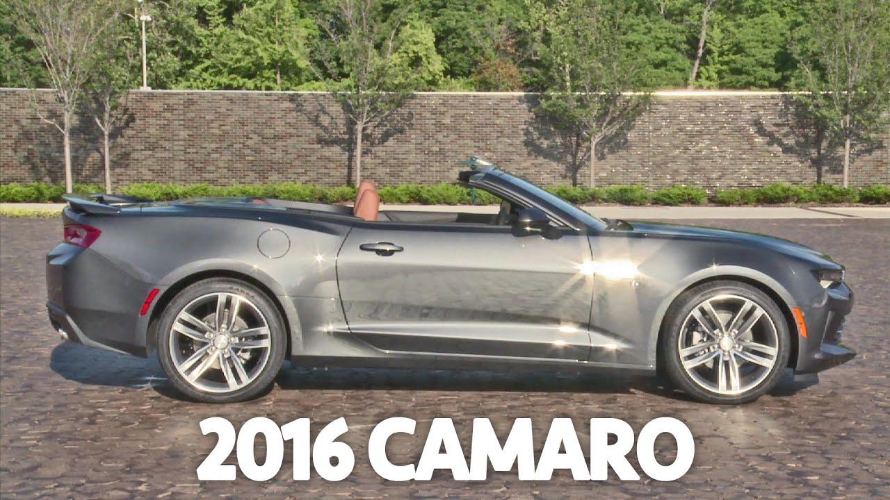2016 Chevrolet Camaro Convertible - Interior & Exterior ...