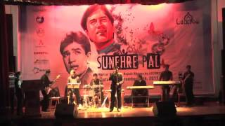 Gulaabi Aankhe @ Sunehre Pal   A Musical Tribute to Rajesh Khanna by LUCKNOW 