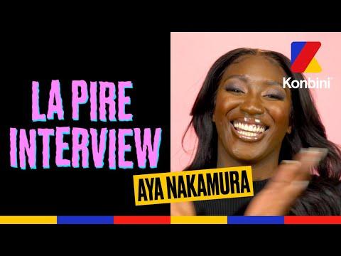 Youtube: Aya Nakamura:«Djadja? J'ai plus jamais eu de nouvelles» l La Pire Interview l Konbini