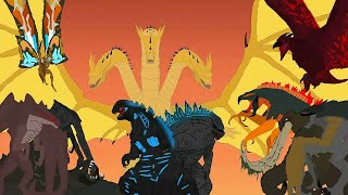 Godzilla Vs king ghidorah | Godzilla lord of earth | gojiramania | Godzilla, king ghidorah, kong