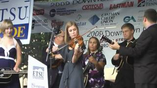Durhams Reel + Nine Pound Hammer- ETSU Bluegrass Pride Band opens at Bluegrass On Broad