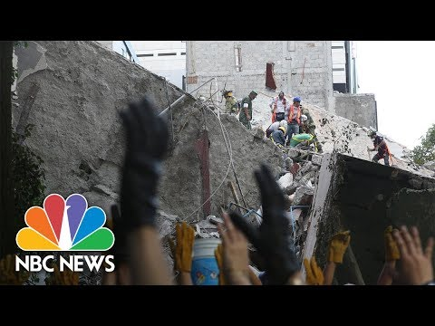 Mexico Earthquake: Citizens Become Heroes Searching For Survivors Among Rubble | NBC News