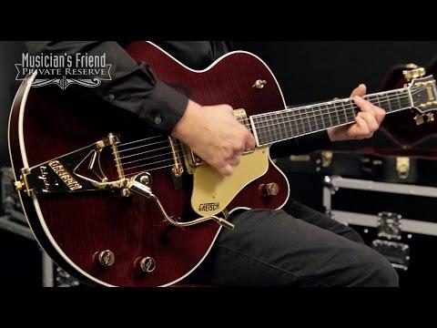 Gretsch Guitars G6122-1959 Chet Atkins Country Gentleman Electric Guitar, Walnut Stain