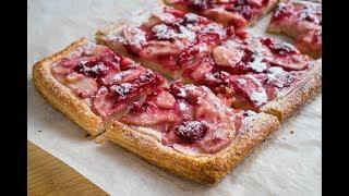 Тарт с Грушей и Малиной | Pear and Raspberry Tart | Tanya Shpilko