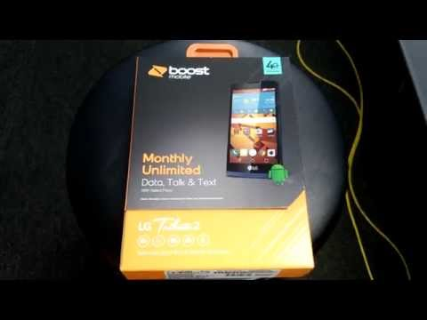 LG tribute 2 unboxing Boost Mobile HD