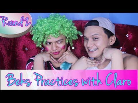 BEKS PRACTICES with Claro Saplala III (Round 2)