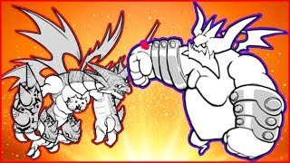 ОГРОМНЫЙ БОСС The Battle Cats игра как мультик ударный отряд котят от фаника 3