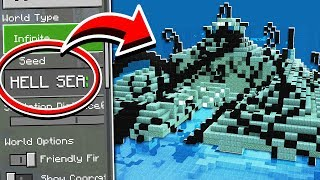 CURSED OCEAN MONUMENT SEED in Minecraft! (Scary Survival EP71)