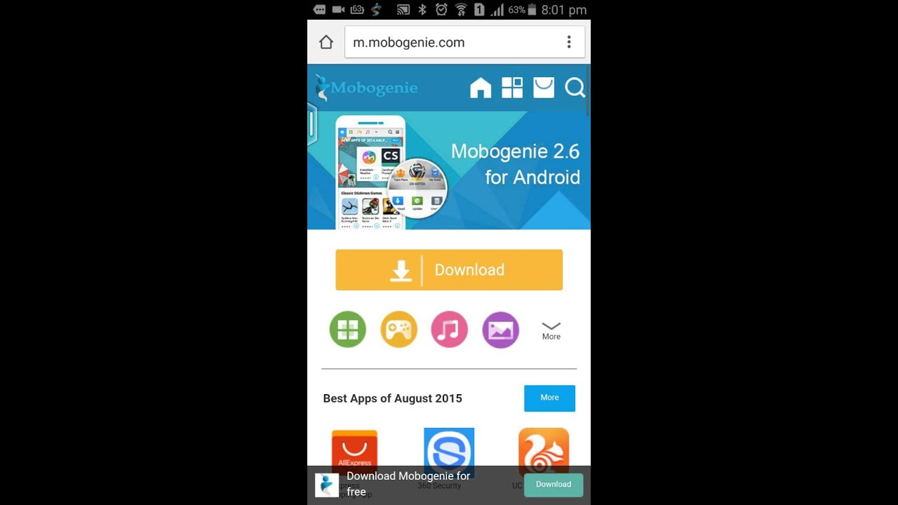 Mobogenie market free (2. 0. 8. 6) latest version apk free for.