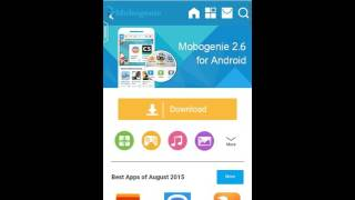 how to download mobogenie app for Android.