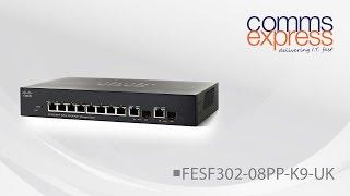 Cisco 300 Series Switch SF302-08PP