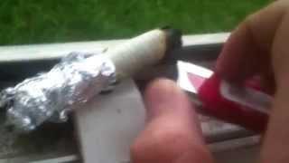 Как сделать дымовуху в домашних условиях )) прикол!