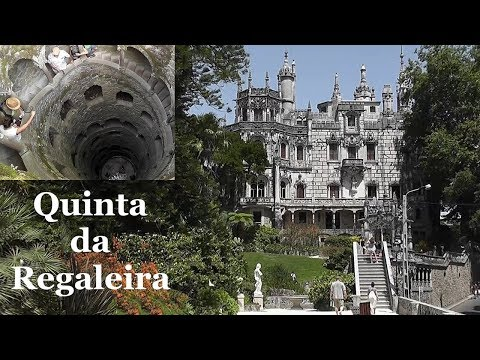 PORTUGAL: Quinta da Regaleira - estate in Sintra [HD]
