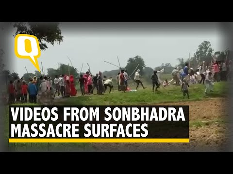 Gunshots, Violence, Screams: Videos from Sonbhadra Massacre Surface | The Quint