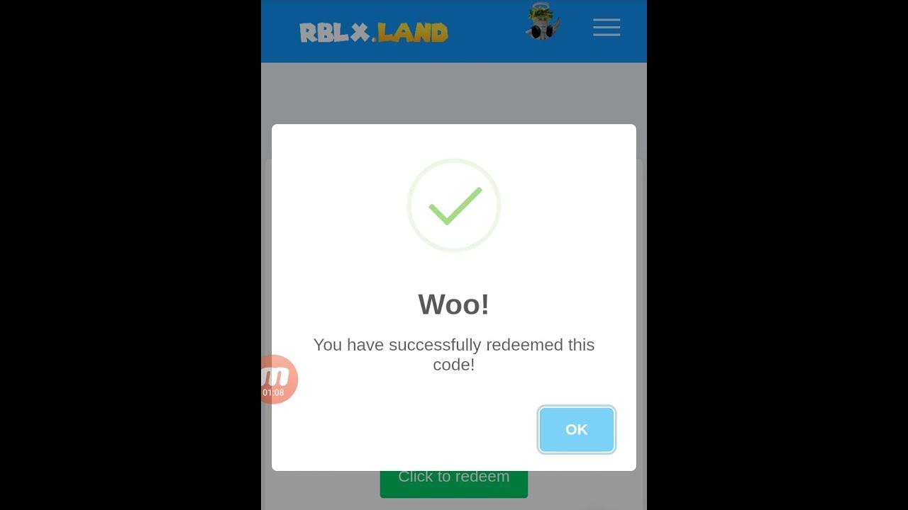 Rblx Land Codes 2020 May