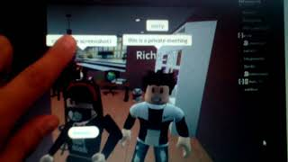 Images of when I met amberry and richy yt on roblox!