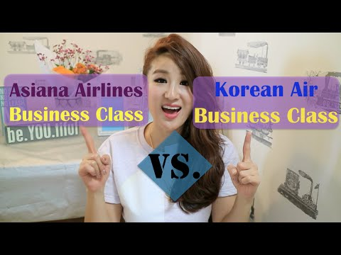 Business Class Battle: Korean Air vs. Asiana Airlines  -  Jenny Jo