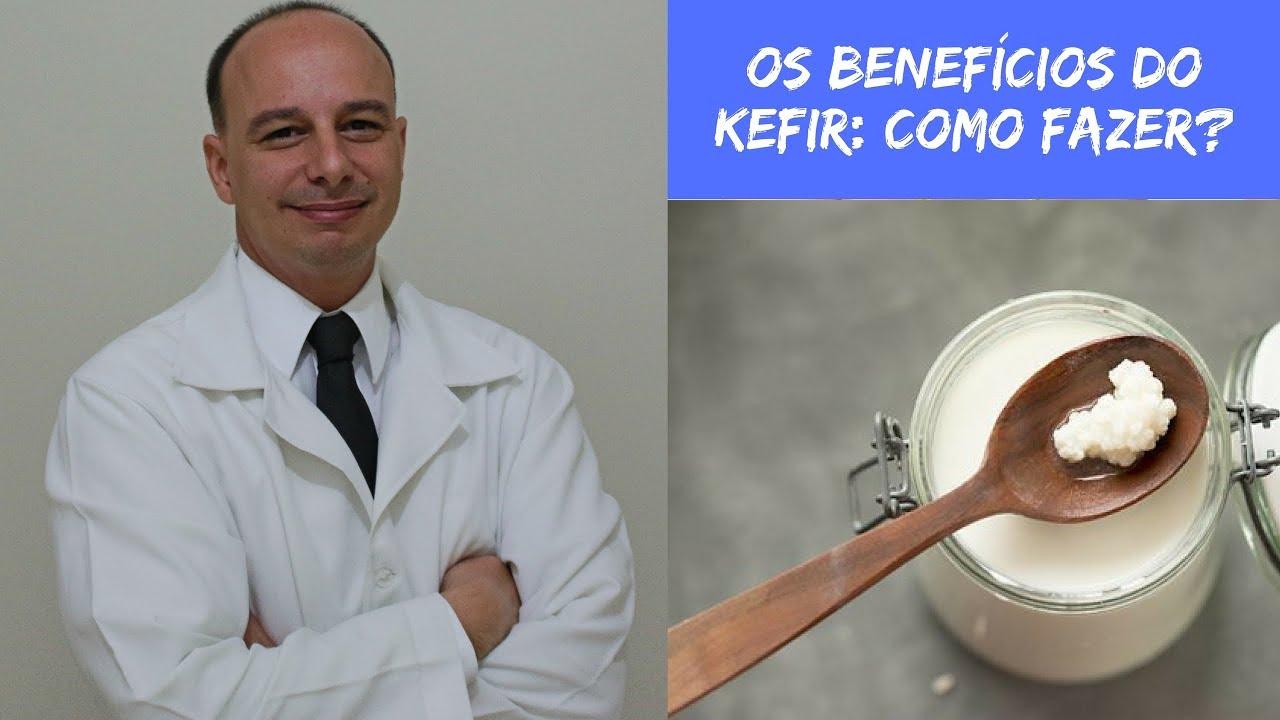 quais sao os beneficios do kefir para a saude
