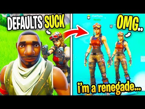 Renegade Raider Trolls me For Being a Default, Little Does he Know...