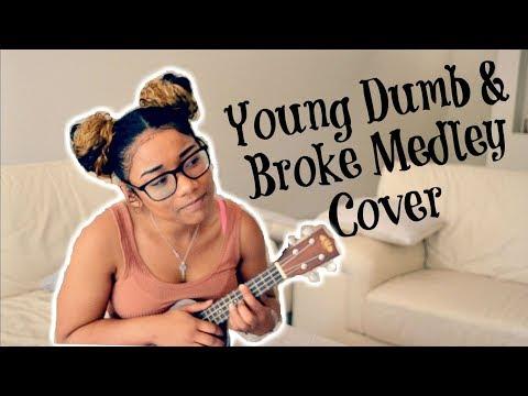 Khalid x Young, Dumb & Broke Medley (Ukulele Cover)