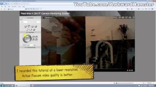 How-to Setup Install Foscam FI9820W Wireless IP Camera