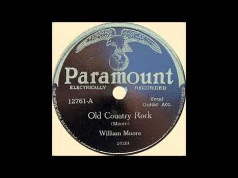 William Moore Old Country Rock  PARAMOUNT 12761 A