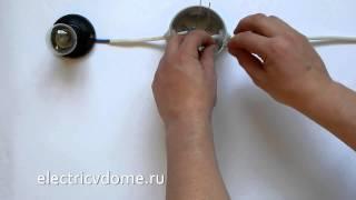 видео Как подключить блок розетка-выключатель в одном корпусе: схема и последовательность действий