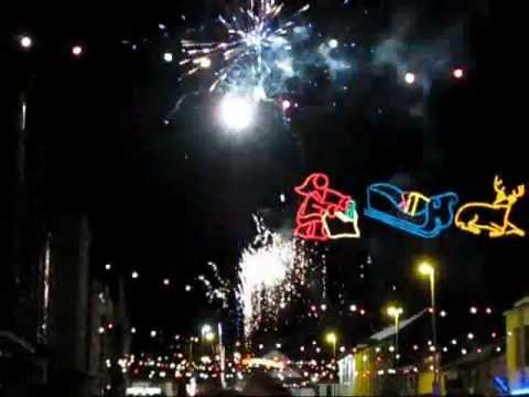 Newtown Christmas Lights Switch on - 2nd Dec 2011 - YouTube