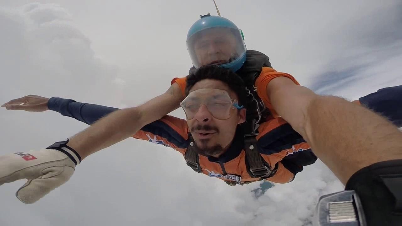 Salto de Paraquedas do Princes J na Queda Livre Paraquedismo 21 01 2017