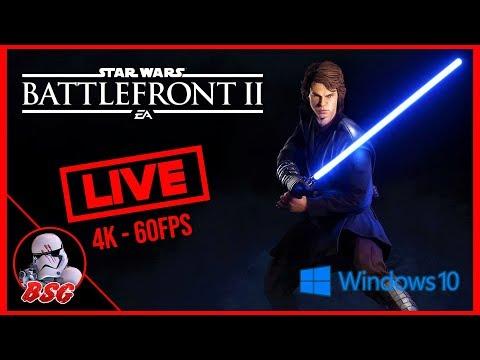 Anakin Release Stream, The Chosen One Update Is Here! Star Wars Battlefront 2 PC Gameplay (4K 60FPS)