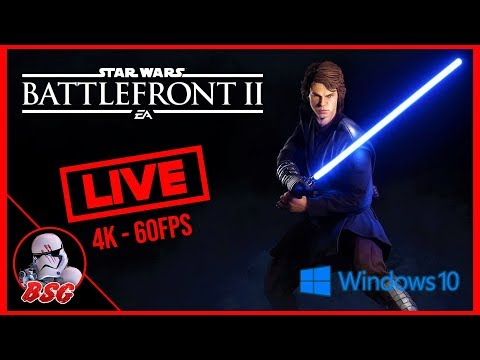 Anakin Release Stream, The Chosen One Update Is Here! Star Wars Battlefront 2 PC Gameplay (4K 60FPS) thumbnail